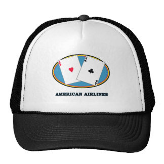 AMERICAN AIRLINES MESH HATS