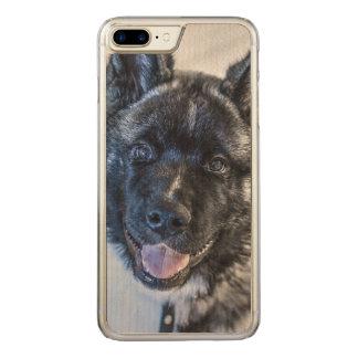 American Akita Carved iPhone 8 Plus/7 Plus Case