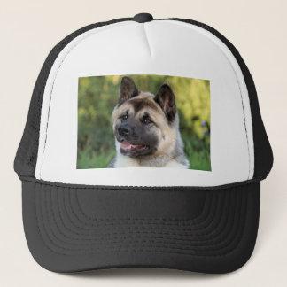 American Akita Dog Trucker Hat