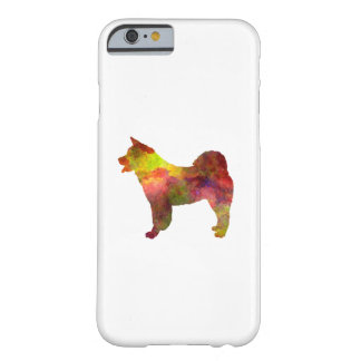 American Akita in watercolor Barely There iPhone 6 Case