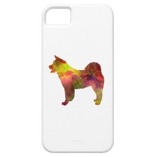 American Akita in watercolor iPhone 5 Cases