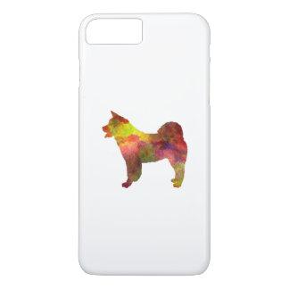 American Akita in watercolor iPhone 7 Plus Case