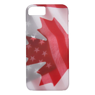 American and Canadian flags iPhone 8/7 Case