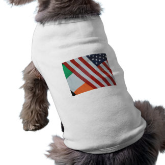 American and Irish Flags Pet Clothes