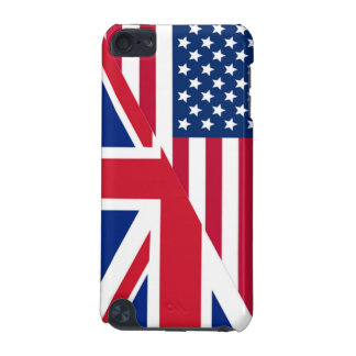 American and Union Jack Flag iPod Touch 5G Case
