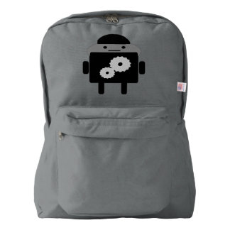 American Apparel Backpack Smoke