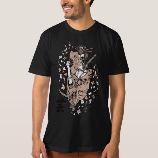 American Apparel: Kimono Japanese Skull custom T-Shirt