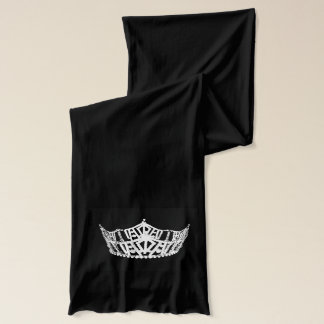 American Apparel Scarf-Pageant Crown Scarf