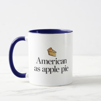 American as Apple Pie Mug