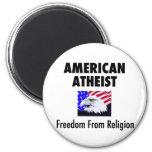 American Atheist Fridge Magnet