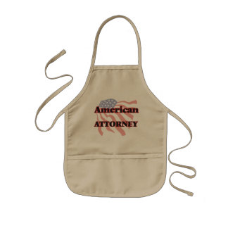 American Attorney Kids Apron