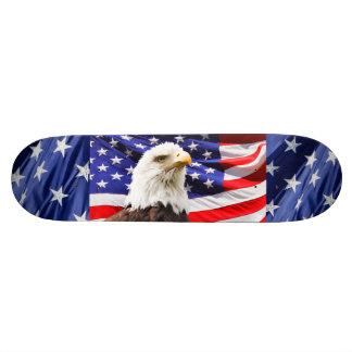 American Bald Eagle Destiny Nature 19.7 Cm Skateboard Deck