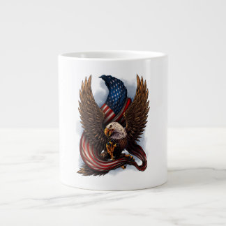 AMERICAN BALD EAGLE GIANT COFFEE MUG