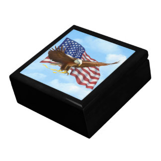 American Bald Eagle Gift Box