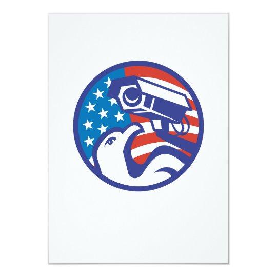 American Bald eagle Security Camera Card