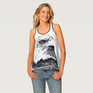 American Bald Eagle Singlet