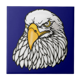 American bald eagle ceramic tiles