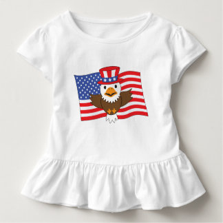American Bald Eagle Toddler T-Shirt
