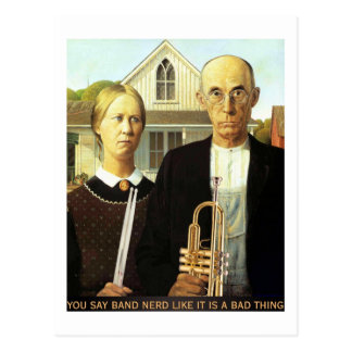 American Band Nerds Postcard