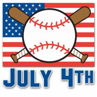 American Baseball Acrylic Cut Outs