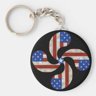 American Basque Keychain