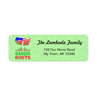 American Basque Roots Address Labels