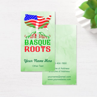 American Basque Roots Business Card Template