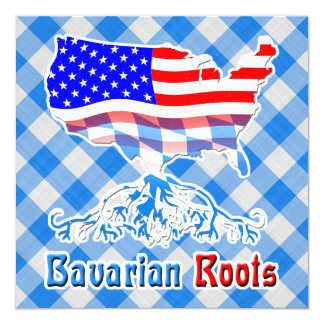 American Bavarian Roots Invitations
