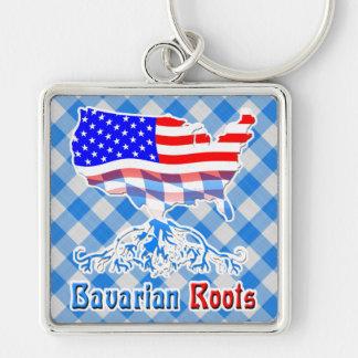American Bavarian Roots Keyring