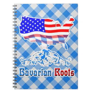 American Bavarian Roots Notepad Notebooks