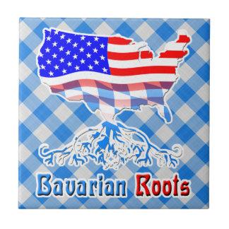 American Bavarian Roots Tile