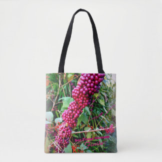 American Beautyberry at Bok Tower Gardens Florida Tote Bag