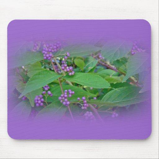 American Beautyberry (Callicarpa americana) Mouse Pad