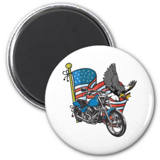American Bike Eagle Magnet