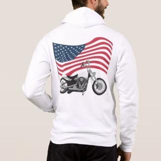 """""""American Biker"""" Hoodie"""