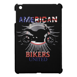 American Bikers United Motorbike Graphic iPad Mini Cases