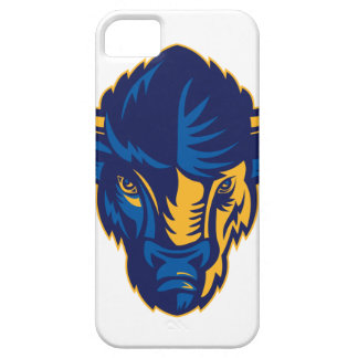 American Bison Head Retro iPhone 5 Case