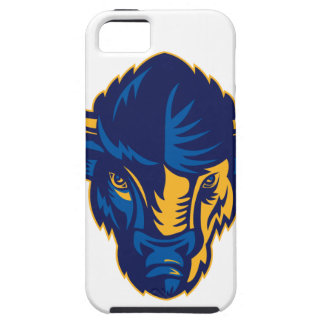 American Bison Head Retro iPhone 5 Cover