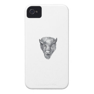 American Bison Head Watercolor Case-Mate iPhone 4 Case