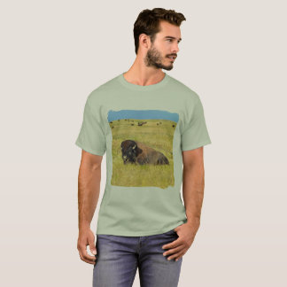 American Bison Home On The Range T-Shirt