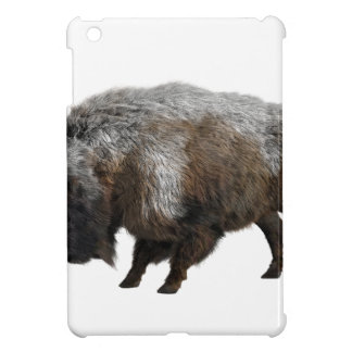 American Bison in Winter iPad Mini Cover