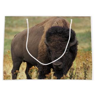 American bison large gift bag