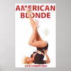 AMERICAN BLONDE poster