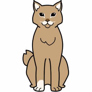 American Bobtail Cat Cartoon Acrylic Cut Outs