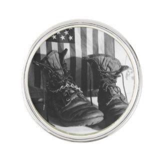 American Boots Lapel Pin