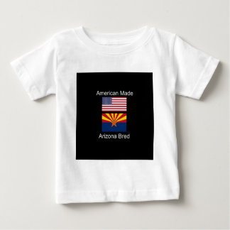 """American Born..Arizona Bred"" Flags and Patriotism Baby T-Shirt"