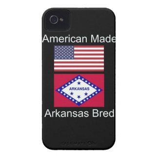 """American Born..Arkansas Bred"" Flag Design iPhone 4 Cases"