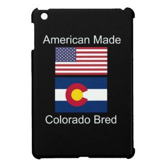 """""""American Born..Colorado Bred"""" Flag Design iPad Mini Cases"""