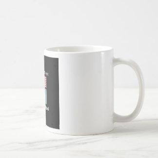"""American Born..Delaware Bred"" Flag Design Coffee Mug"