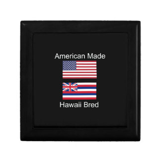 """""""American Born..Hawaii Bred"""" Flags and Patriotism Gift Box"""